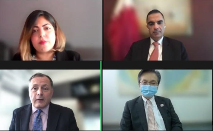 سفير قطر لدى ماليزيا يشارك بحلقة نقاش حول آثار جائحة كورونا كوفيد-19