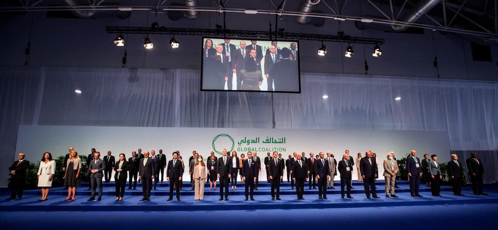 دولة قطر تشارك في المؤتمر الوزاري للتحالف الدولي ضد تنظيم داعش