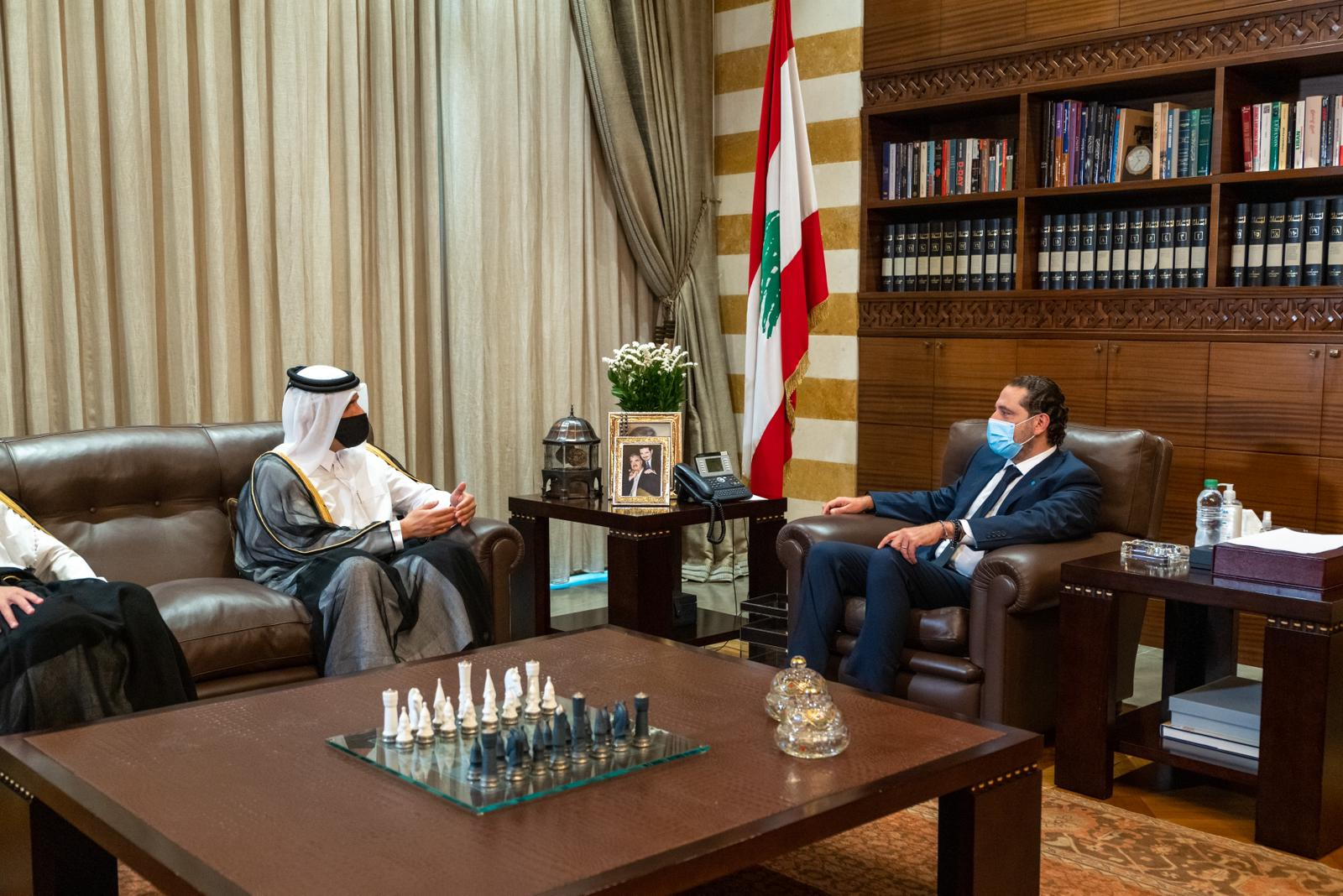 Deputy Prime Minister and Minister of Foreign Affairs Meets Lebanese Prime Minister-Designate