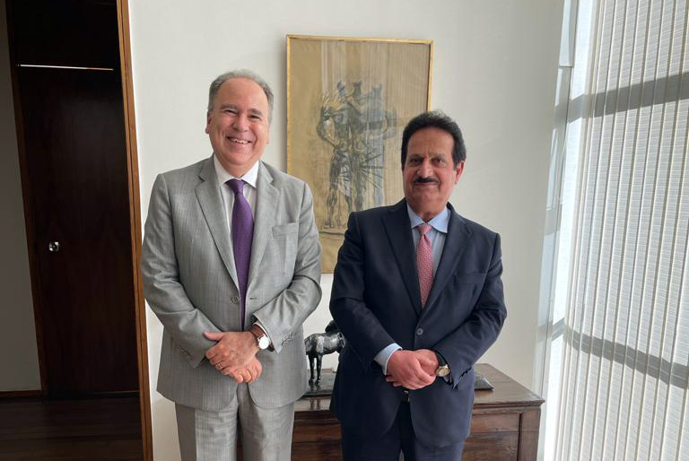 رسالة من نائب رئيس مجلس الوزراء وزير الخارجية إلى وزير خارجية البرازيل