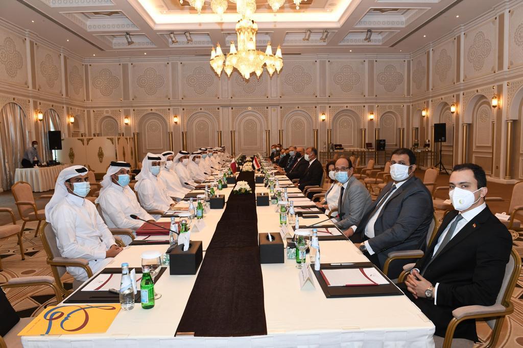 لجنة المتابعة القطرية المصرية تعقد اجتماعها السابع بالدوحة