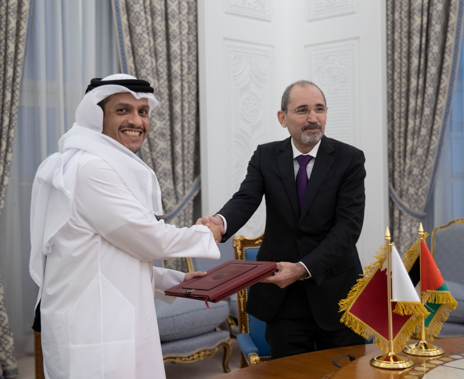 Deputy Prime Minister and Minister of Foreign Affairs, Jordanian Counterpart Sign Agreement and MoU