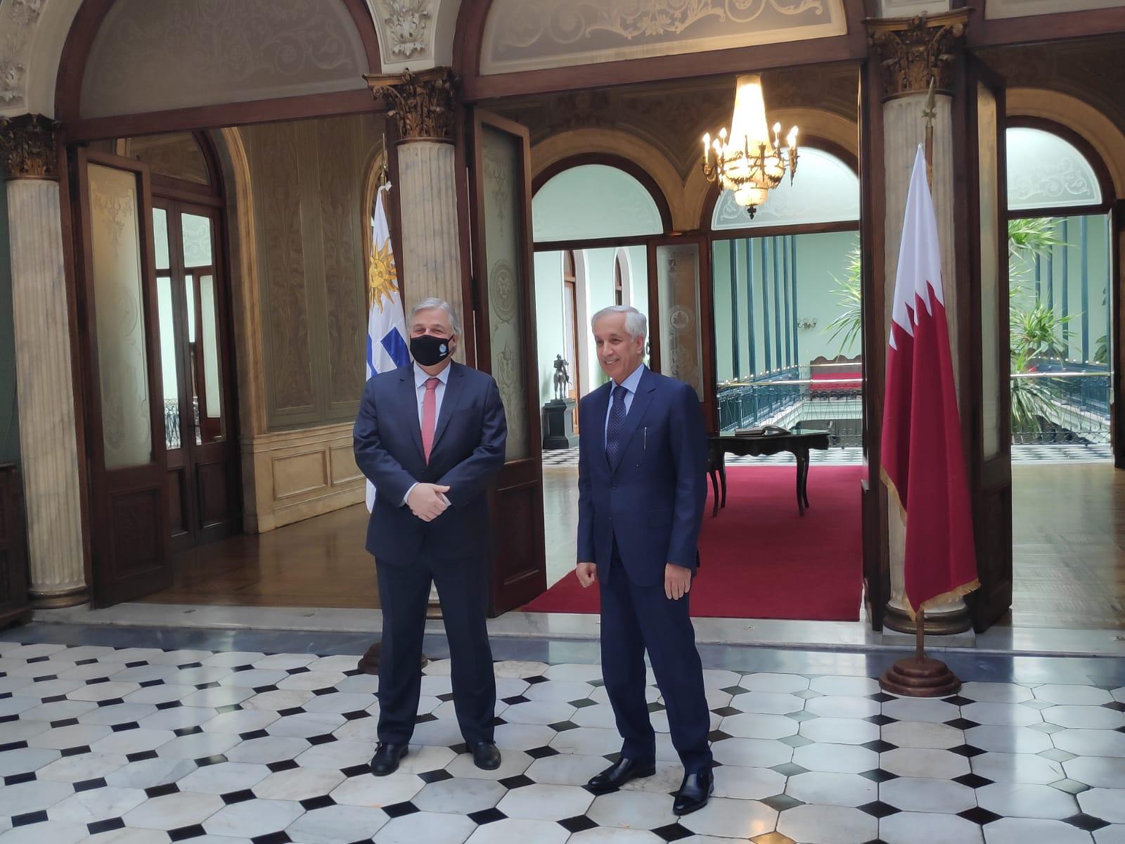 جولة مشاورات سياسية بين دولة قطر وجمهورية أوروغواي