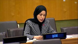 دولة قطر تجدد التأكيد على أن التسوية الدائمة لقضية الشرق الأوسط لن تتحقق إلا على أساس القانون الدولي والشرعية الدولية