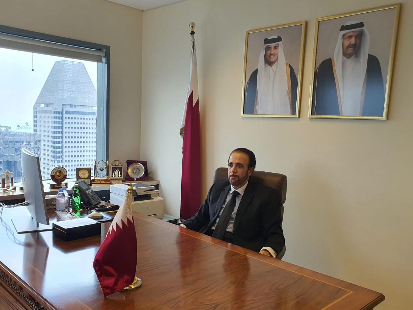 سفير قطر لدى سنغافورة يشارك في أسبوع الطاقة الدولي