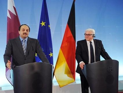 وزير الخارجية يبحث مع نظيره الألماني القضايا ذات الاهتمام المشترك