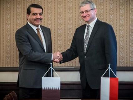 جولة مشاورات سياسية بين قطر وبولندا
