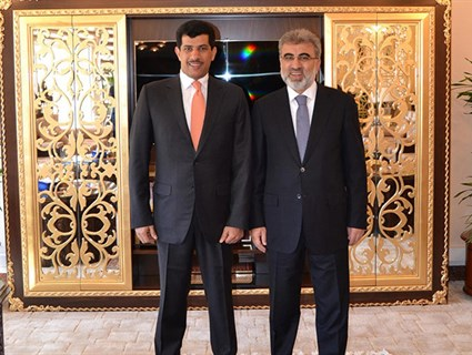 بحث العلاقات الثنائية بين دولة قطر وتركيا