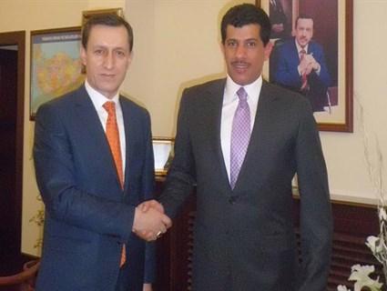 Turkish Deputy Premier Meets Qatari Ambassador