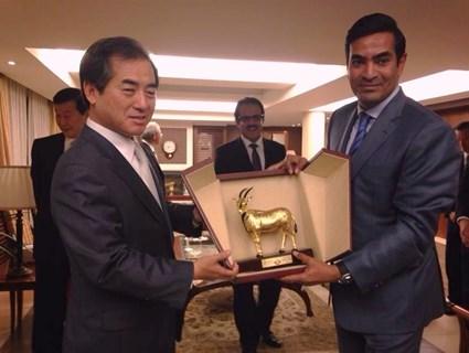 S. Korean Officials Meet Qatari Ambassador