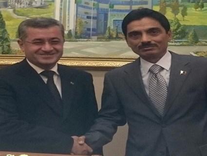 Turkmenistan's Deputy PM Meets Qatar's Ambassador