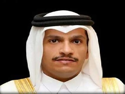 Foreign Minister Receives Phone Call from Bahraini Counterpart